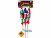 Total Wipeout Rockets (Pack of 3) 1.3G