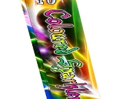 "10"" Coloured Sparklers (Pack of 5)"